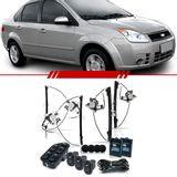Kit-Vidro-Eletrico-Sensorizado-Fiesta-2003-2004-2005-2006-2007-2008-2009-2010-2011-2012-2013-2014-4-Portas-Completo
