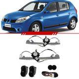 Kit-Vidro-Eletrico-Simples-Logan-2007-2008-2009-2010-Sandero-4-Portas-Dianteiro