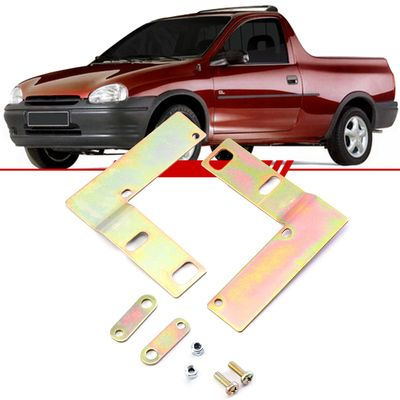 Kit-Suporte-Trava-Eletrica-Corsa-1995-1996-1997-1998-1999-2000-2001-2002-Pick-Up-2-Portas