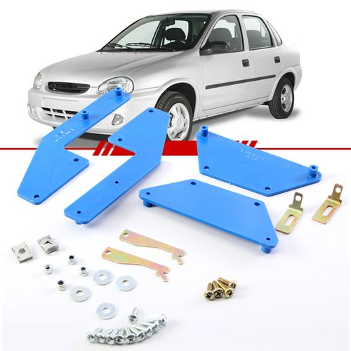 Kit-Suporte-Trava-Eletrica-Corsa-Sedan-1996-1997-1998-1999-2000-2001-2002-4-Portas