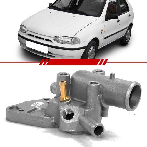 Valvula-Termostatica-Palio-1996-1997-1998-1999-2000-Palio-Weekend-1997-1998-1999-Siena-1998-1999-Strada-1998-1999-2000-com-Ar-Carcaca-de-Aluminio