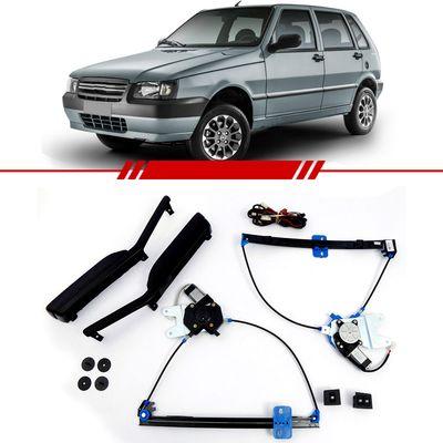 Kit-Vidro-Eletrico-Simples-Uno-2004-2005-2006-2007-2008-2009-2010-2011-2012-2013-2-Portas-Led-ambar