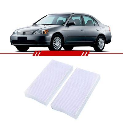 Par-Filtro-de-Ar-Condicionado--cabine--Civic-2001-2002-2003-2004-2005