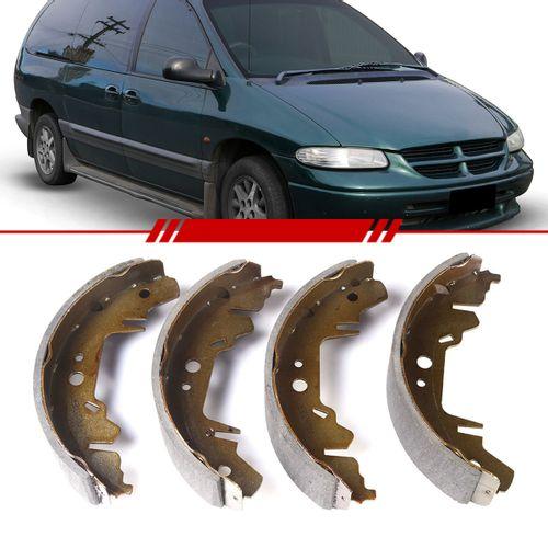 Jogo-Sapata-de-Freio-com-Lona-Gran-Caravan-1996-1997-1998-1999-2000