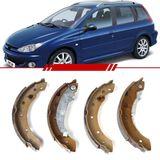 Jogo-Sapata-de-Freio-com-Lona-Peugeot-206-Sw-2002-2003-2004-2005-2006-2007-2008