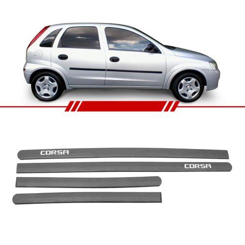 Jogo-de-Friso-Borrachao-Lateral-Preto-Corsa-2002-2003-2004-2005-2006-2007-2008-Personalizado-4-Portas