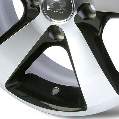 Jogo-de-Roda-Graphite-Diamond-Aro-15-Tala-6-Polegadas-Furacao-5x100-Off-Set-40