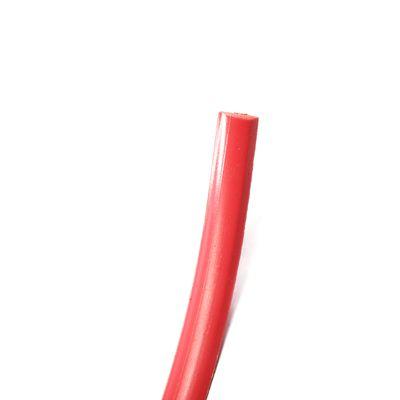 Friso-do-Parachoque-Vermelho-Escort-1987-1988-1989-1990-1991-1992