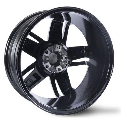 Jogo-de-Roda-Black-Gloss-Aro-18-Tala-7-Polegadas-Furacao-5x100-Off-Set-45