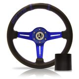 Volante-Esportivo-Driver-Azul-320mm-com-Cubo-Ford---Modelo-Fd-09