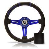 Volante-Esportivo-Driver-Azul-320mm-com-Cubo-Chevrolet---Modelo-Ch-12