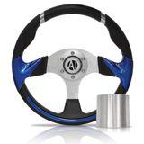 Volante-Esportivo-Hawk-Azul-320mm-com-Cubo-Fiat---Modelo-Ft-04