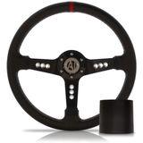 Volante-Esportivo-Nova-Preto-350mm-com-Cubo-Chevrolet---Modelo-Ch-11