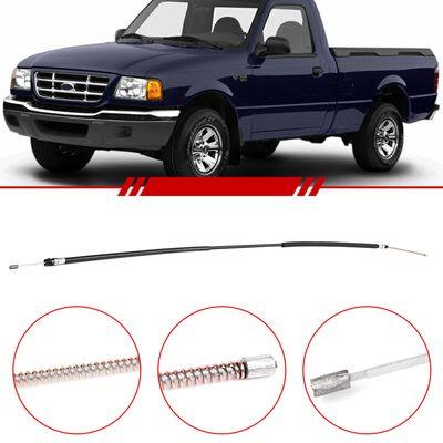 Cabo-do-Freio-de-Mao-Traseiro-Ranger-2002-2003-2004-2005-Gasolina-e-Diesel-Lado-Esquerdo-Motorista
