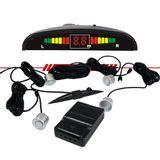 Sensor-de-Estacionamento-Preto-4-Pontos-Display-Led-Sinal-Sonoro