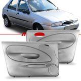 Par-Forro-de-Porta-Dianteira-Cinza-Fiesta-1996-1997-1998-1999-2001-4-Portas-Vidro-Eletrico