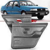Par-Forro-de-Porta-Traseira-Cinza-Santana-1991-1992-1993-1994-1995-1996-1997-1998-sem-Porta-Objeto-Vidro-Eletrico-e-Manual