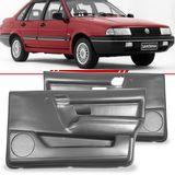 Par-Forro-de-Porta-Dianteira-Cinza-Santana-1991-1992-1993-1994-1995-1996-1997-1998-com-Porta-Objeto-4-Portas-Vidro-Eletrico-e-Manual
