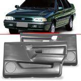 Par-Forro-de-Porta-Dianteira-Cinza-Versailles-1991-1992-1993-1994-1995-1996-1997-1998-com-Porta-Objeto-4-Portas-Vidro-Eletrico-e-Manual