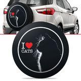 -Capa-de-Estepe-Love-Cats-Ecosport-2003-2004-2005-2006-2007-2008-2009-2010-2011-2012-2013-2014-2015-2016-Aro-15-e-16-Polegadas-com-Cadeado