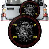 -Capa-de-Estepe-Dragon-Tracker-2007-2008-2009-Aro-16-Polegadas-com-Cadeado
