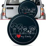 -Capa-de-Estepe-Family-Tracker-2007-2008-2009-Aro-16-Polegadas-com-Cadeado