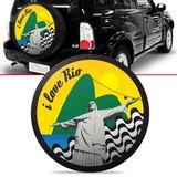 Capa-de-Estepe-Rio-Tracker-2007-2008-2009-Aro-16-Polegadas-com-Cadeado