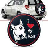 Capa-de-Estepe-Love-Dog-Toyota-Rav4-2006-2007-2008-2009-2010-2011-2012-Aro-17-Polegadas-com-Cadeado