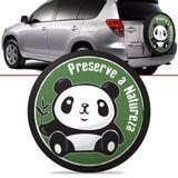 -Capa-de-Estepe-Panda-Toyota-Rav4-2006-2007-2008-2009-2010-2011-2012-Aro-17-Polegadas-com-Cadeado