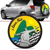 -Capa-de-Estepe-Rio-Toyota-Rav4-2006-2007-2008-2009-2010-2011-2012-Aro-17-Polegadas-com-Cadeado