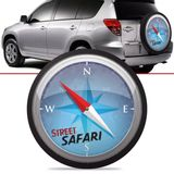 Capa-de-Estepe-Safari-Toyota-Rav4-2006-2007-2008-2009-2010-2011-2012-Aro-17-Polegadas-com-Cadeado