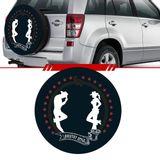 -Capa-de-Estepe-Cowboy-Toyota-Rav4-2006-2007-2008-2009-2010-2011-2012-Aro-17-Polegadas-com-Cadeado