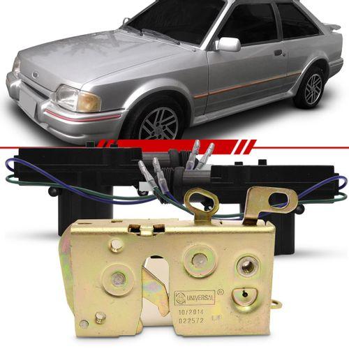 Combo-Apollo-1990-1991-1992-Escort-1987-1988-1989-1990-1991-1992-Par-Fechadura-Porta-Dianteira---Kit-Trava-Eletrica-Dupla-Serventia