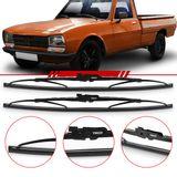 -Par-de-Palhetas-Steel-Standard-Dianteira-original-Trico-Peugeot-Pick-Up-504-Gd-Gdr-Limpador-de-Parabrisa-Modelo-Rodo-16-Polegadas