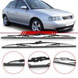 Par-de-Palhetas-Steel-Standard-Dianteira-Audi-A3-1996-a-2006-S3-Limpador-de-Parabrisa-Modelo-Rodo-19-e-21-Polegada