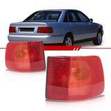 Lanterna-Traseira-Audi-A6-1994-1995-1996-Rubi-Vermelha