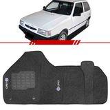 Tapete-Carpete-Grafite-Uno-1985-a-2007-Logo-Fiat-Azul-Bordado-2-Lados-Dianteiro