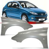 Paralama-Peugeot-206-1999-2000-2001-2002-2003-2004-2005-2006-2007-2008-2009-2010