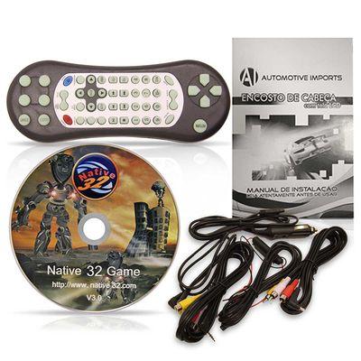 Par-Dvd-Player-Tela-Para-Encosto-de-Cabeca-9--Lcd-com-Game-Usb-Sd-Cinza