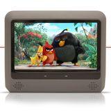 Par-Dvd-Player-Tela-Para-Encosto-de-Cabeca-9--Lcd-com-Game-Usb-Sd-com-Transmissor-Fm-Touchcreen-Cinza