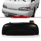 Macaneta-Externa-Porta-Dianteira-Hyundai-H100-1997-1998-1999-2000-2001-2002-2003-2004-Preto-sem-Chave
