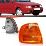 Lanterna-Dianteira-Pisca-Seta-Polo-Classic-1996-a-2000-Ambar-Lado-Esquerdo-Motorista