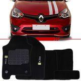 Tapete-Carpete-Preto-Clio-2013-2014-2015-2016-Logo-Renault-Bordado-2-Lados-Dianteiro