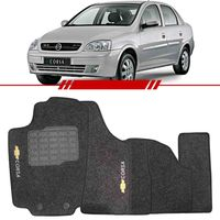 Tapete-Carpete-Grafite-Corsa-2003-2004-2005-2006-2007-2008-2009-2010-2011-2012-Logo-Bordado-2-Lados-Dianteiro