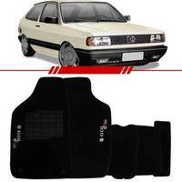 Tapete-Carpete-Preto-Gol-Quadrado-1985-1986-1987-1988-1989-1990-1991-1992-1993-1994-1995-Logo-Bordado-2-Lados-Dianteiro