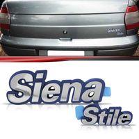 Emblema-Tampa-Porta-Malas-Fiat-Siena-Stile-1996-1997-1998-1999-2000-Cromado-Fundo-Azul
