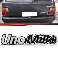 Emblema-Tampa-Porta-Malas-Uno-Mille-1991-1992-1993-Prata-Fundo-Preto