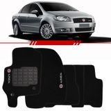 Tapete-Carpete-Personalizado-Preto-Linea-2009-2010-2011-2012-Logo-Fiat-Bordado-2-Lados-Dianteiro