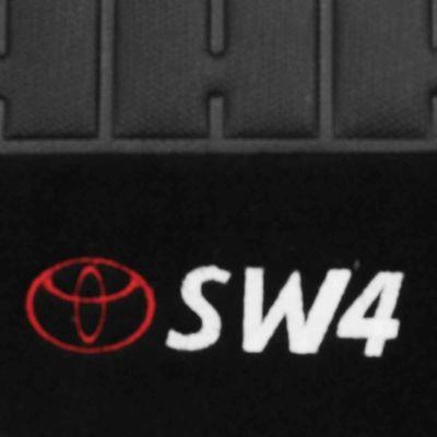 Tapete-Carpete-Personalizado-Preto-Hilux-Sw4-2005-2006-2007-2008-2009-2010-2011-Logo-Toyota-Bordado-2-Lados-Dianteiro