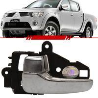 Par-Macaneta-Interna-da-Porta-Mitsubishi-L200-Triton-2008-2009-2010-2011-2012-Cabine-Dupla